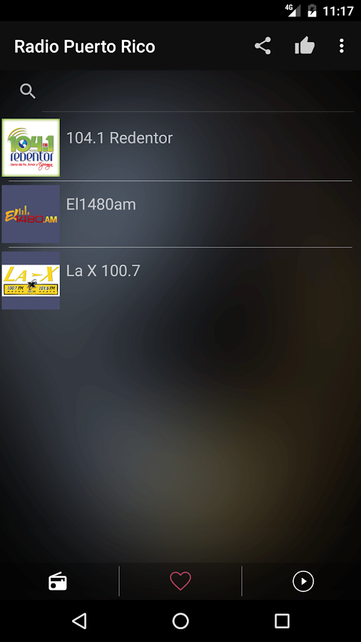 Puerto Rico Radio Stations- screenshot