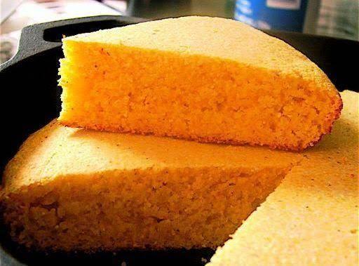 Mami's Sweet Skillet Cornbread Recipe