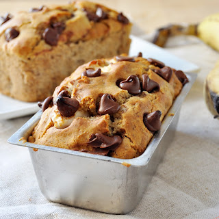 Banana Monster Bread, Vegan + Gluten-Free.