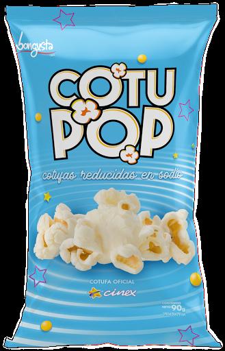 snack cotufa cotu pop reducida en sodio 90gr