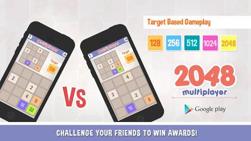 2048 v s 2048 - Multiplayer