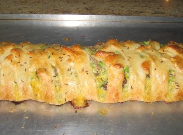 Broccoli Brunch Braid Recipe