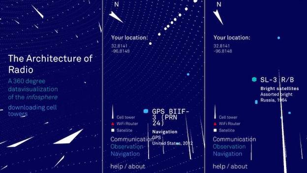 Esta mágica app te permite ver las ondas de radio de tu entorno