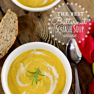 Best Butternut Squash Soup.
