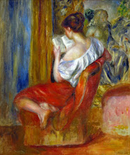 "Photo: Pierre-Auguste Renoir, ""Ragazza che legge"""