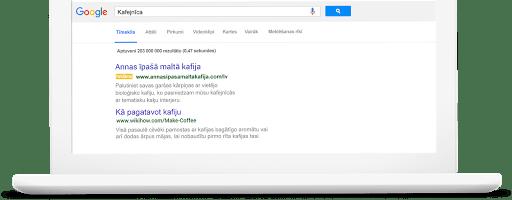 Reklamēšana meklēšanas tīklā