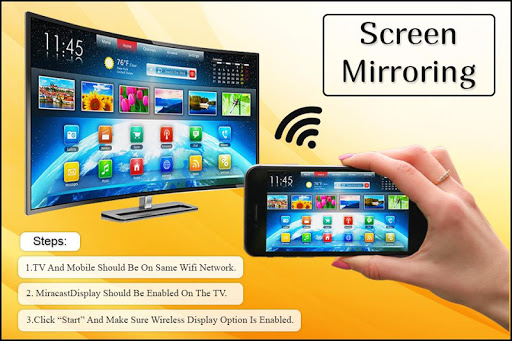 Screen Mirroring: Connect Mobile to TV 1.1 screenshots 1