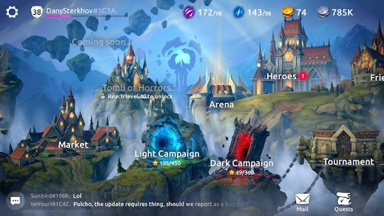 Age of Magic Mod Apk [GOD MODE + MENU MOD] 8