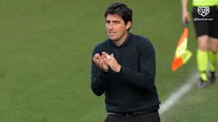 Andoni Iraola, técnico del Rayo Vallecano.