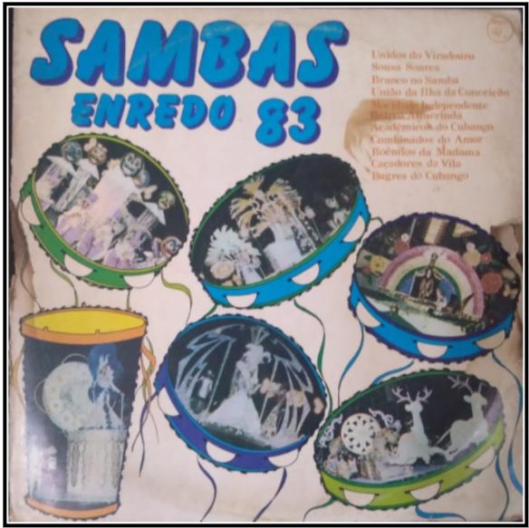 LP de 1983 - Acervo João Perigo