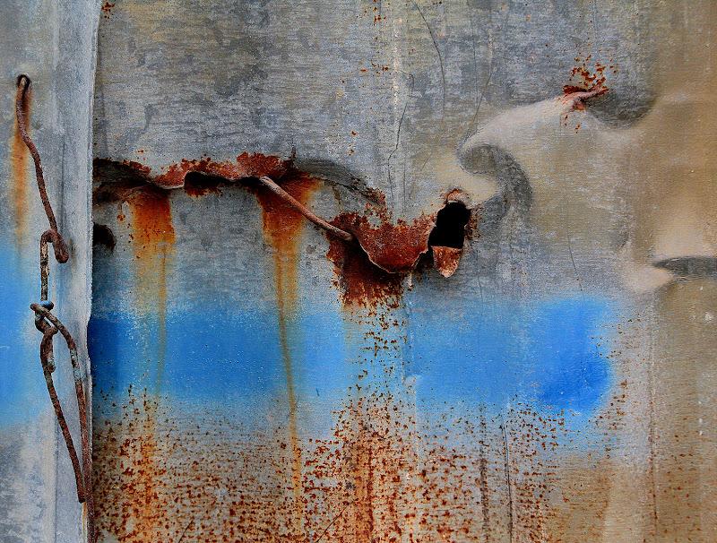 Arte in una staccionata di Naldina Fornasari