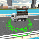 Cargo Truck Transporter Icon