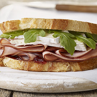 Black Forest Ham & Brie Grilled Cheese