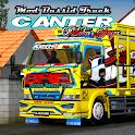 Mod Bussid Truck Canter Mekar Jaya icon