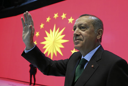 Turkish President Tayyip Erdogan. Picture: Reuters