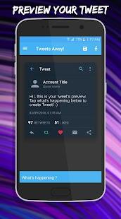 Download Tweets Away! Pro - FB Tweets Apk 1 1 1,com