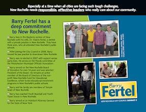 Photo: Fertel for City Council 2011