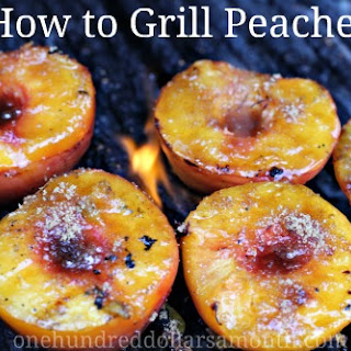 Easy Summer Recipes – Grilled Peaches
