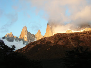 Photo: Fitz Roy im Morgenlicht