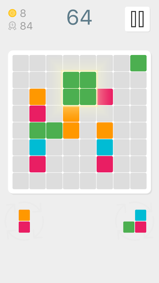 4 Blocks Puzzle- screenshot