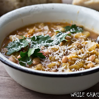 MINESTRONE with WHITE BEANS Recipe