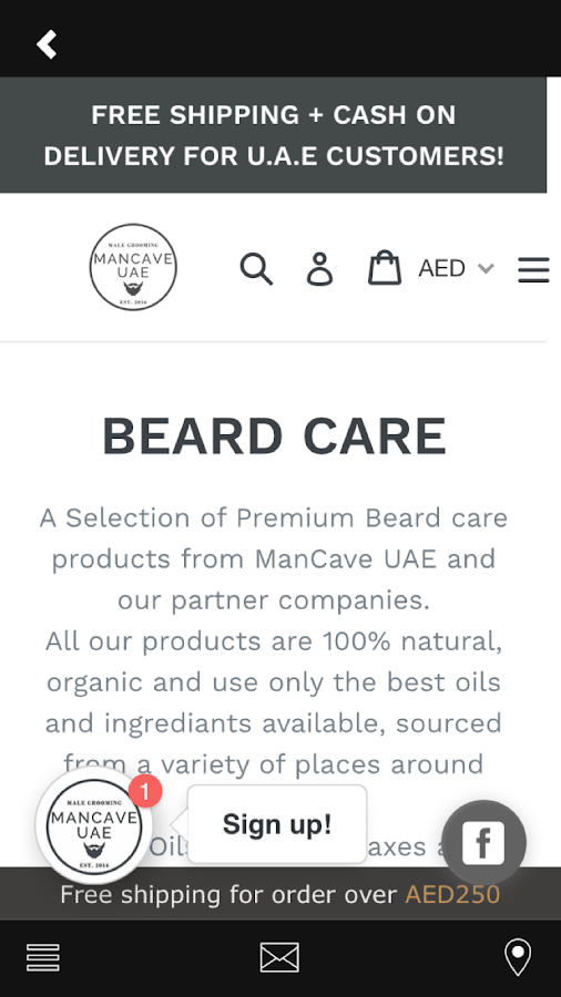 ManCave UAE- screenshot