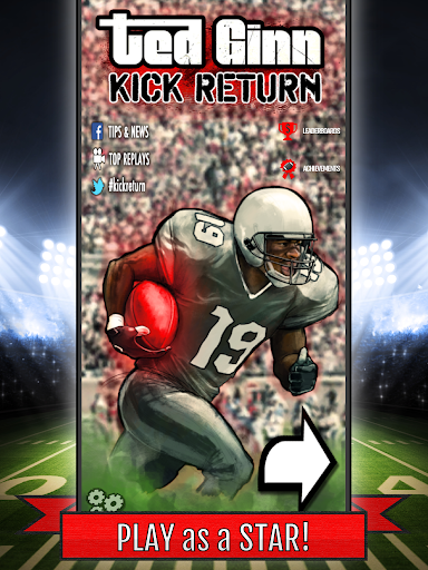 Ted Ginn: Kick Return Football - screenshot