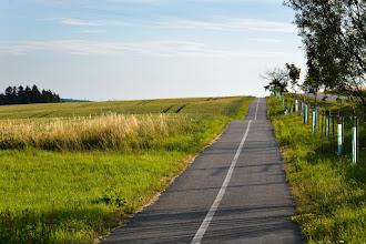 Photo: Późnym popołudniem po ścieżkach rowerowych.