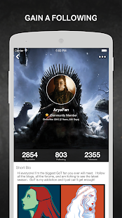 Thrones Amino for Ice and Fire - náhled