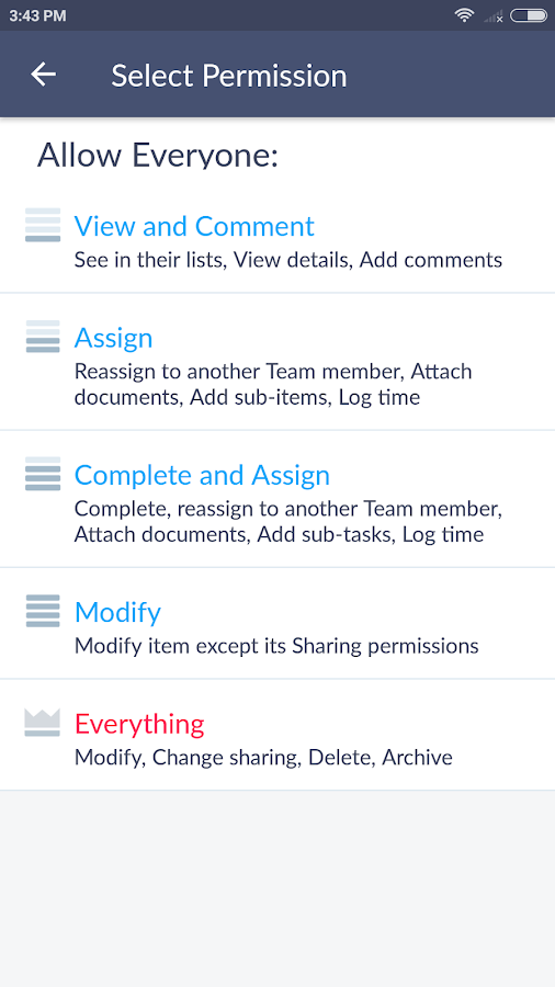 Hitask - Business Task Manager- screenshot