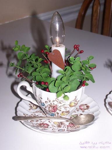 استعملات اخرى لفناجين الشاي