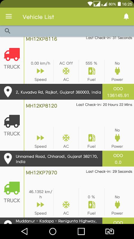 Smart GPS Tracker screenshots