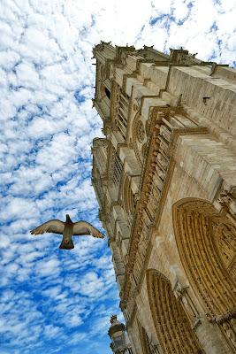 Nuvole su Notre-Dame Paris di Doriana Frau