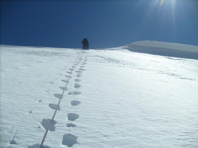 Снежные просторы Большой стены