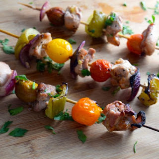 Mediterranean Chicken Shish Kabob
