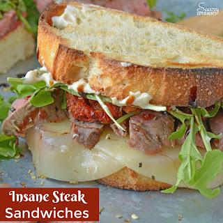Insane Steak Sandwiches Recipe