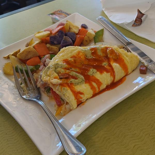 southwestern omelette special