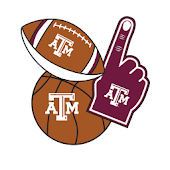 Texas A&M Aggies Selfie Stickers