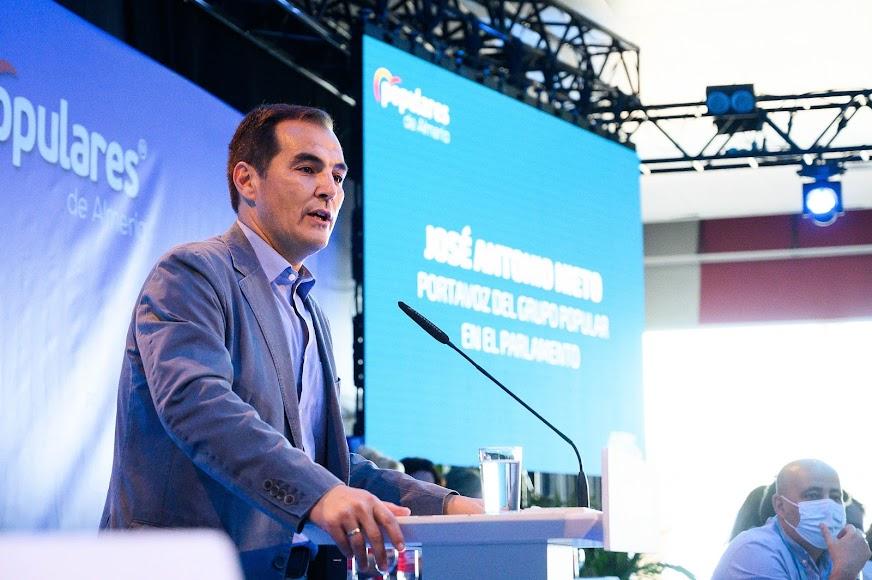 José Antonio Nieto es portavoz del PP en el Parlamento andaluz.