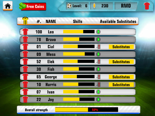 Soccer League Hero 2017 Stars 2.0.0 screenshots 9