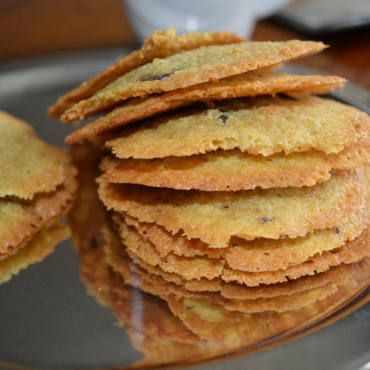 Thin Crispy Chickpea Cookie