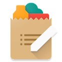 Cinnamon Grocery Shopping List icon