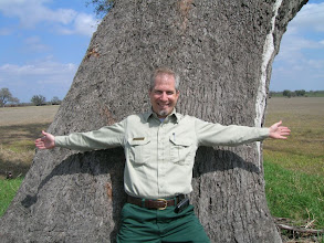 Photo: Pete is surprised at how big the trunk is!