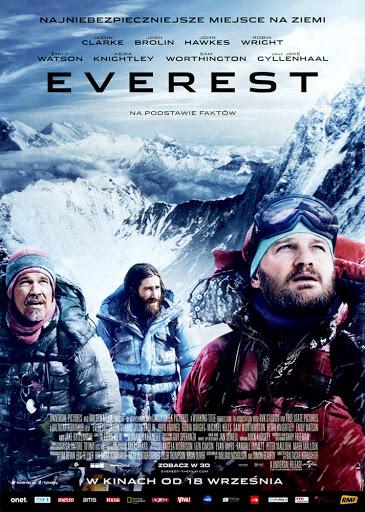 Przód ulotki filmu 'Everest'