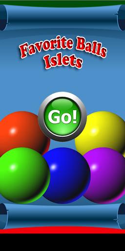 Favorite Balls Islets screenshot 1