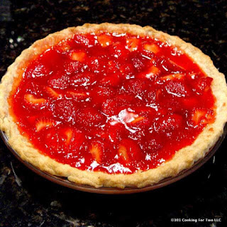 Easy Fresh Strawberry Pie.