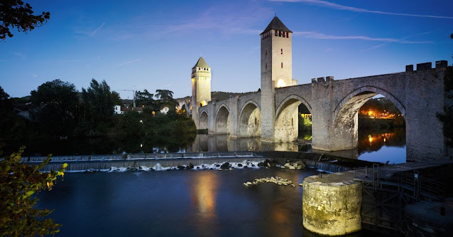 Pont Valentré (мост Валентре), Cahors