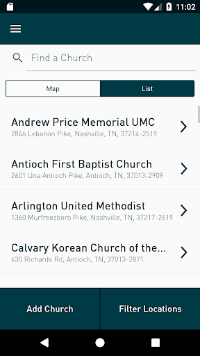 Screenshot for TGI-Church in United States Play Store