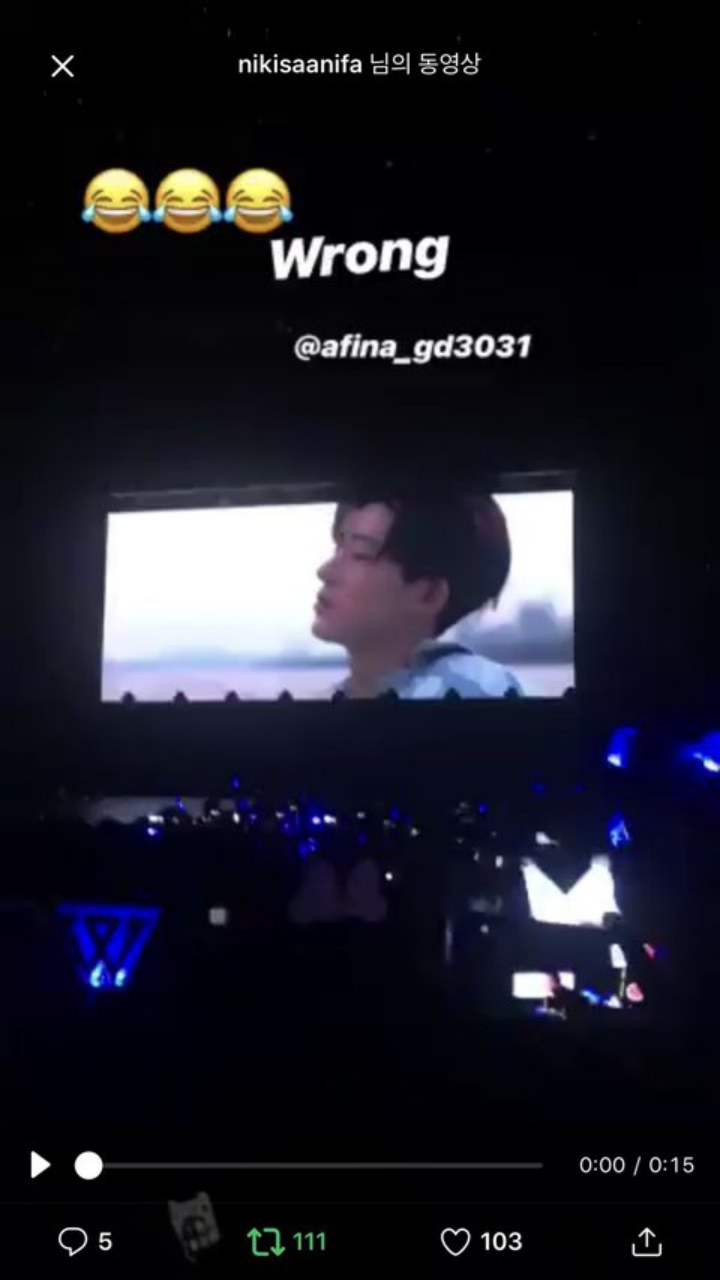 ikon vcr during winner