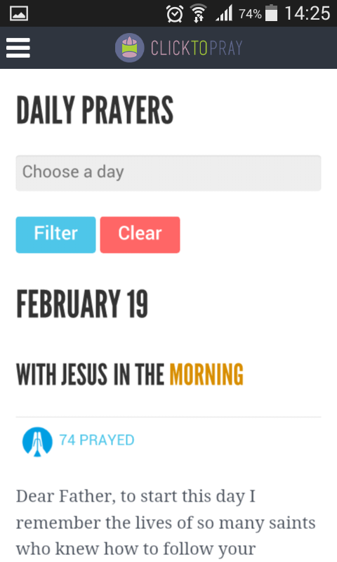 Click To Pray- screenshot